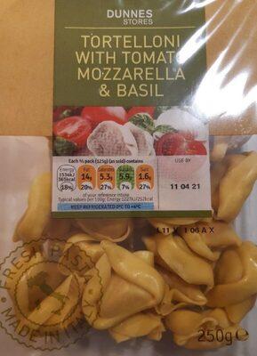 Tortellini with tomato mozzarella and basil - Product - en