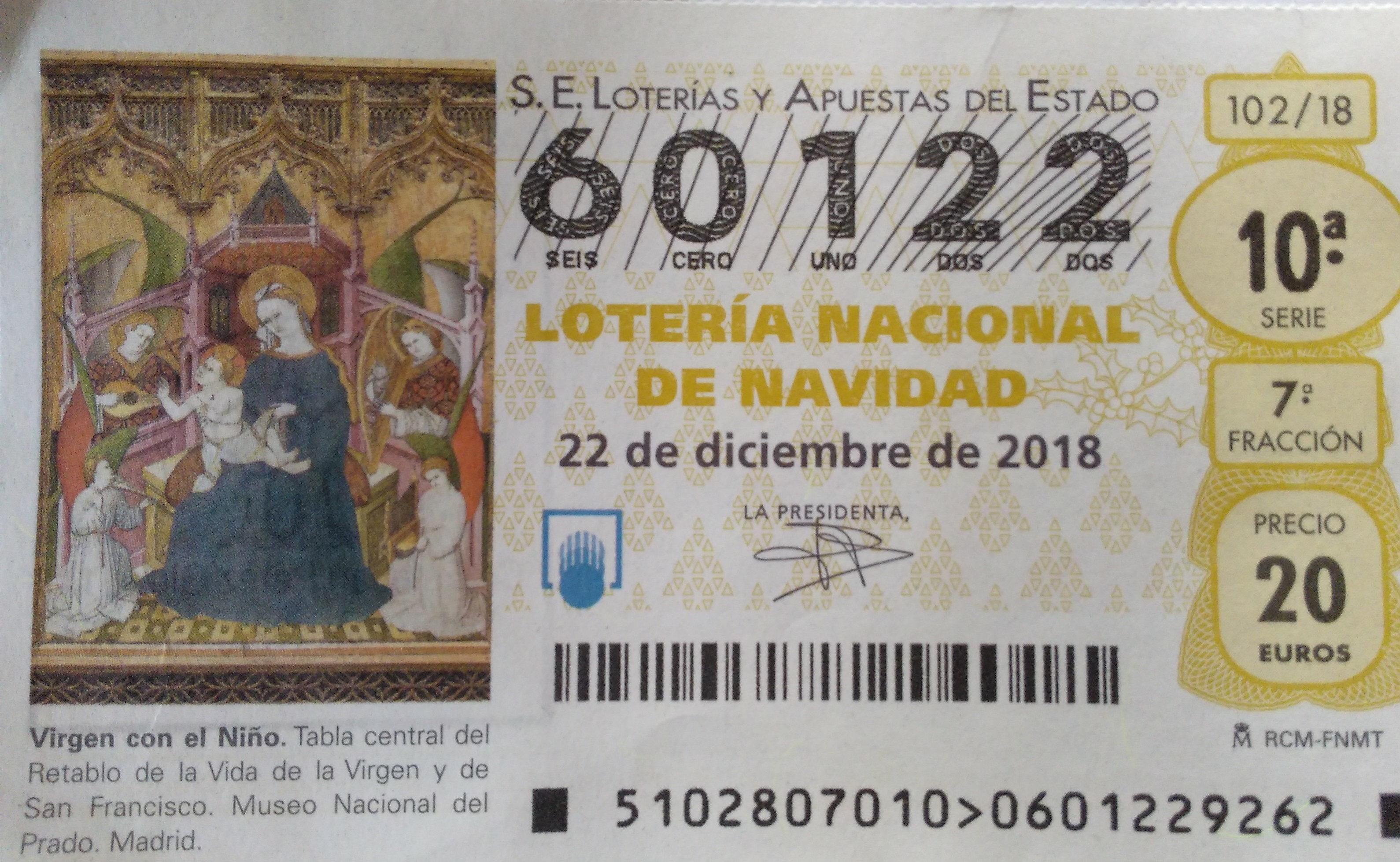 loteria de Navidad - Producto - es
