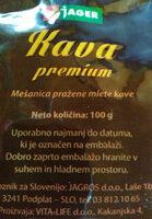 Kava premium - Ingredients - sl