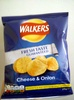 walker's cheese and onion crisps - Product