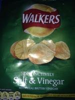 Salt and Vinegar Crisps - Product - en