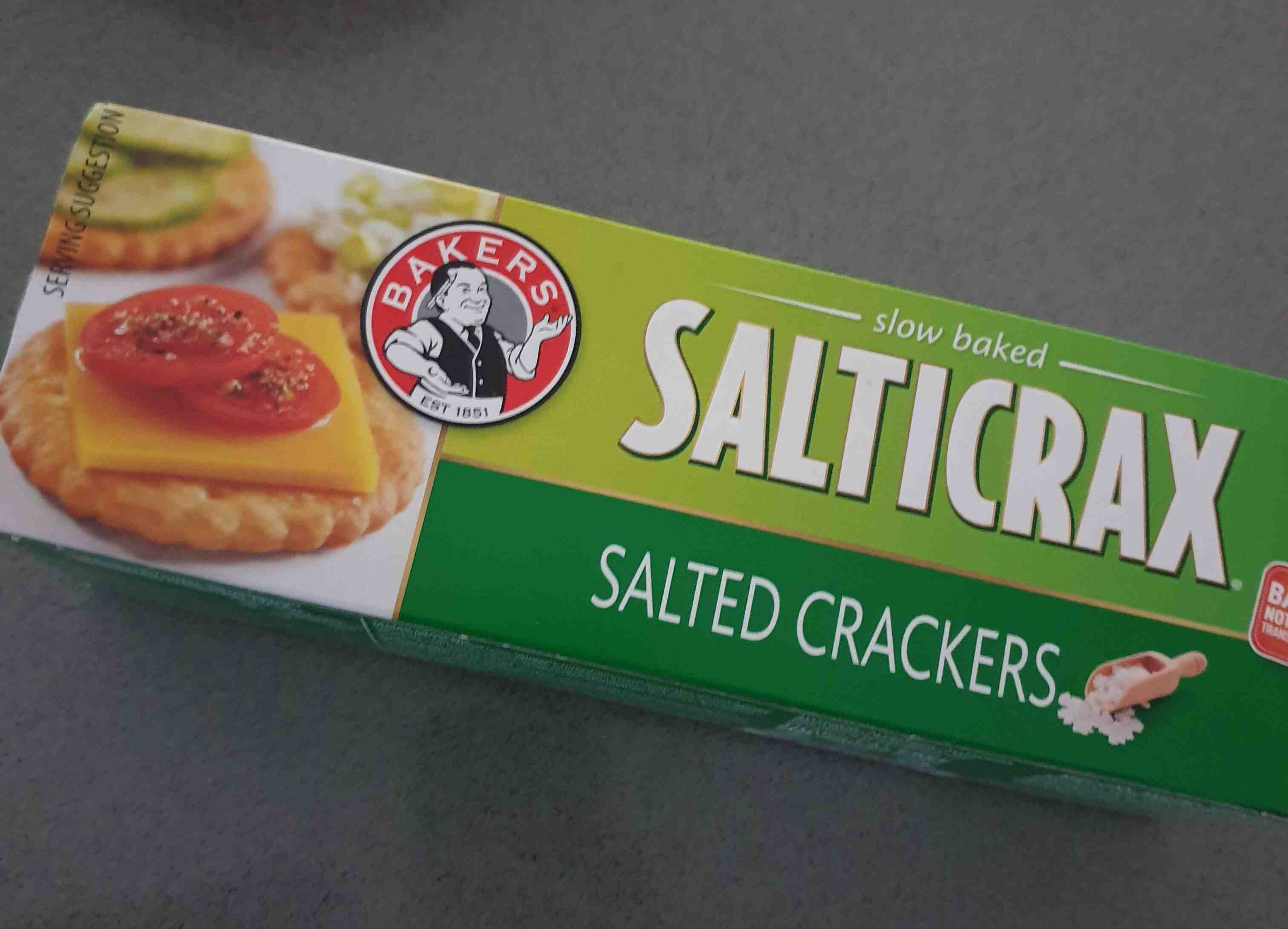 Bakers Salticrax - Product