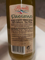 Paesano - Olio extra vergine di oliva - non filtrée - Ingredienti - it