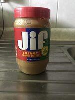 Jiff Creamy Peanutbutter - Product - en