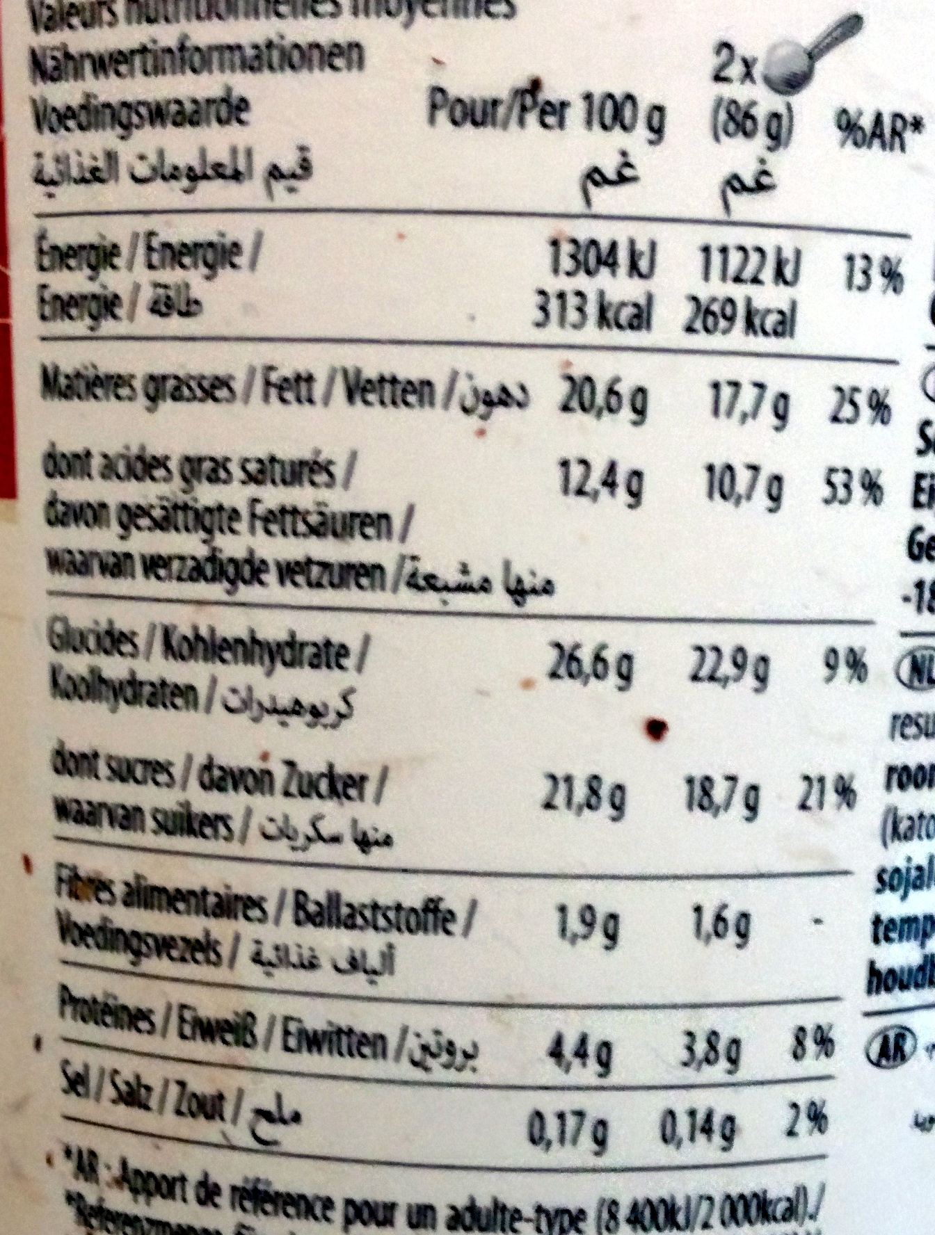 Belgian Chocolate Ice Cream Calories