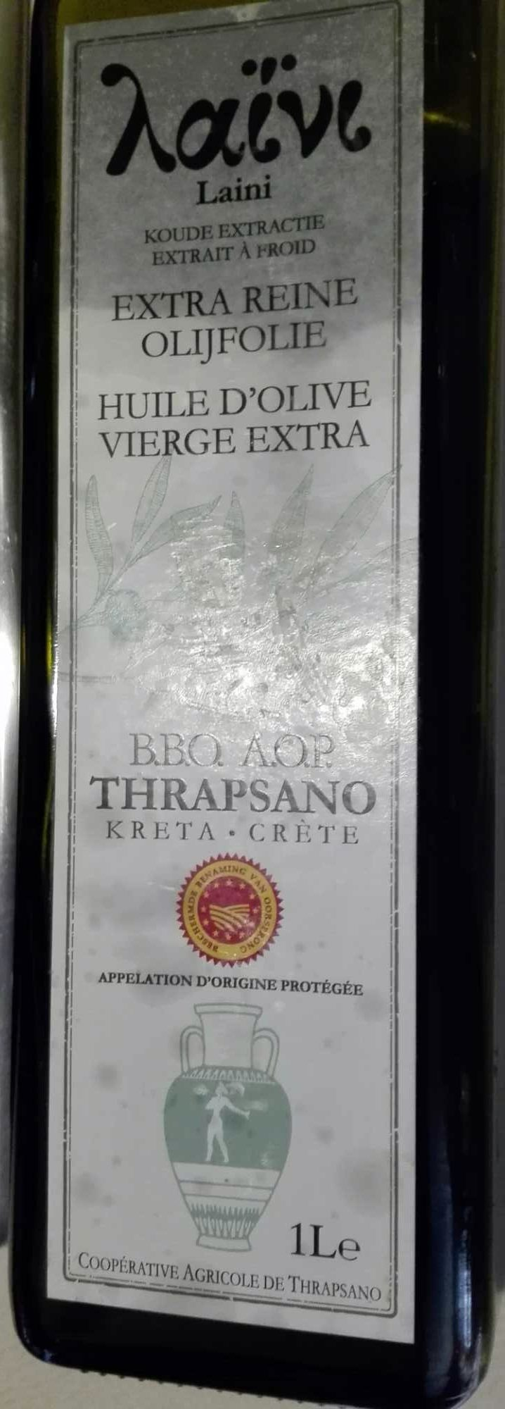 Huile d'olive vierge extra de Crète - Produit - fr