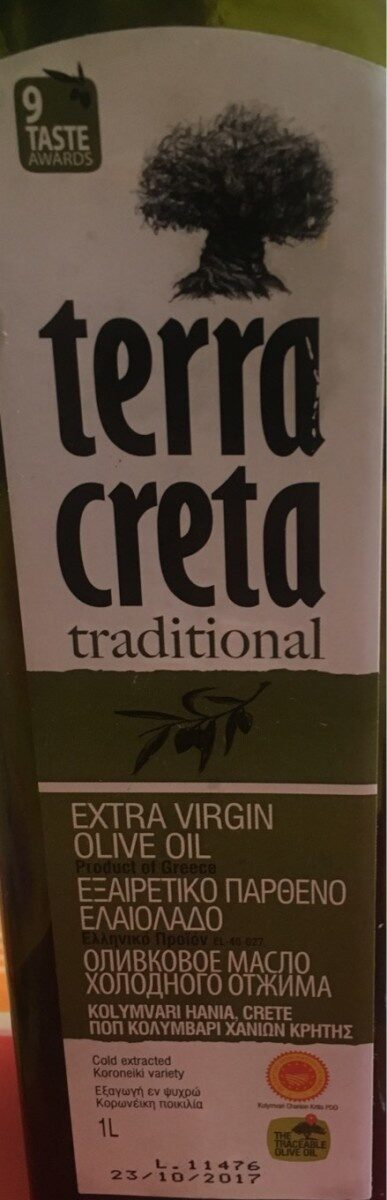 Terra Creta Natives Olivenöl Extra - Product - fr