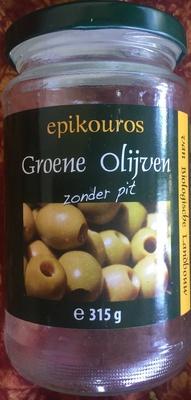 Olives vertes dénoyautées - Product - nl