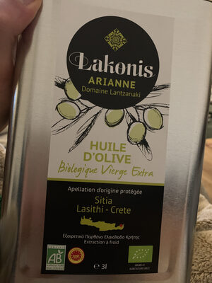 Lakonis Ariane domaine Lantzanaki - Produit - fr