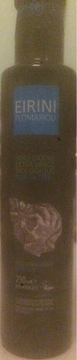 Huile d'olive extra vierge biologique non filtrée - Product