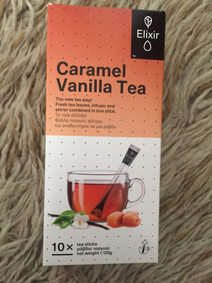 Caramel Vanilla Tea - Product - el