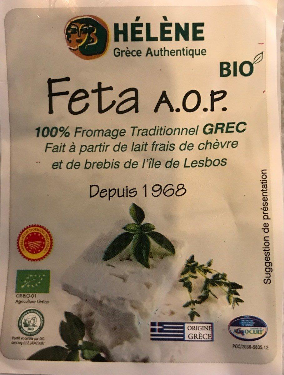 Feta. A.O.P - Produit - fr