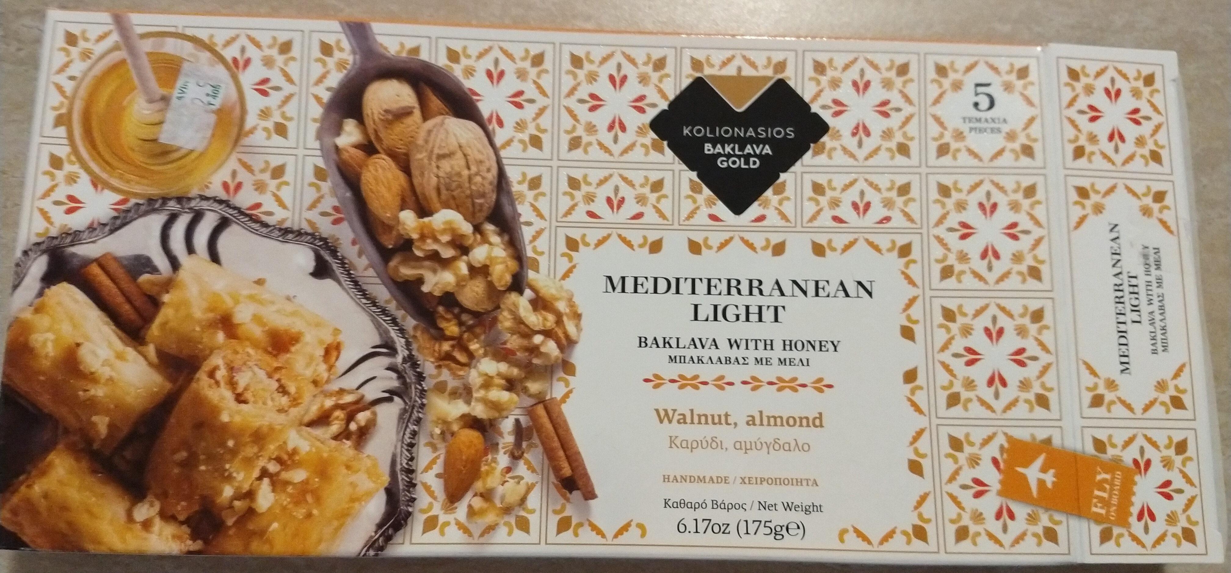 Mediterranean Light. Baklava with honey - Product - nb