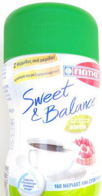 Sweet & Balance - Product