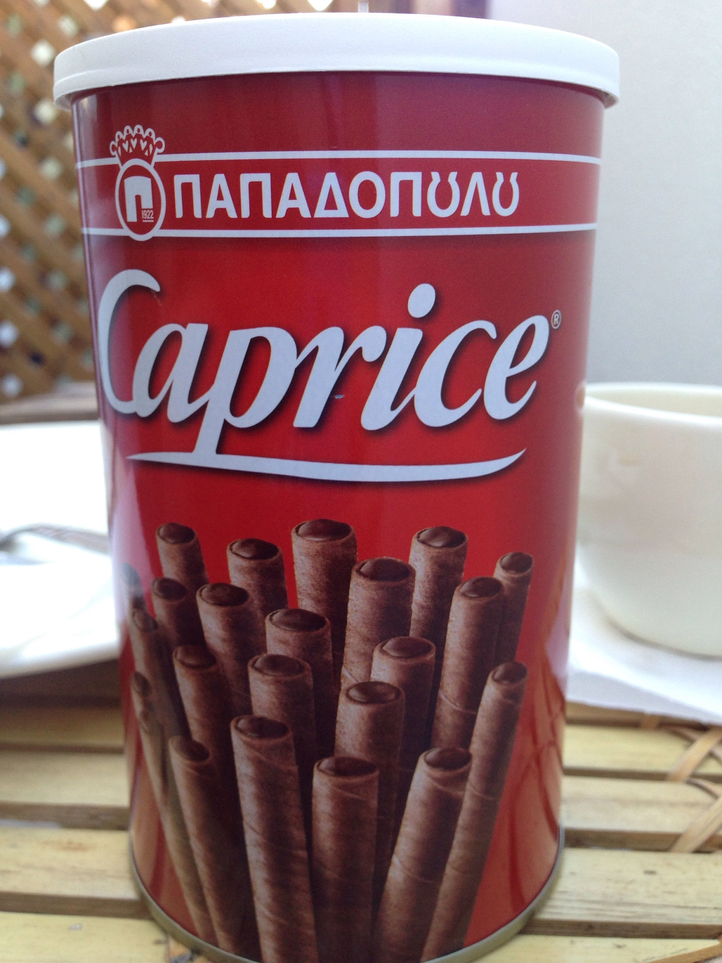 Caprice Delicious Wafer Rolls with Hazelnut and Cocoa Cream - Produit - fr