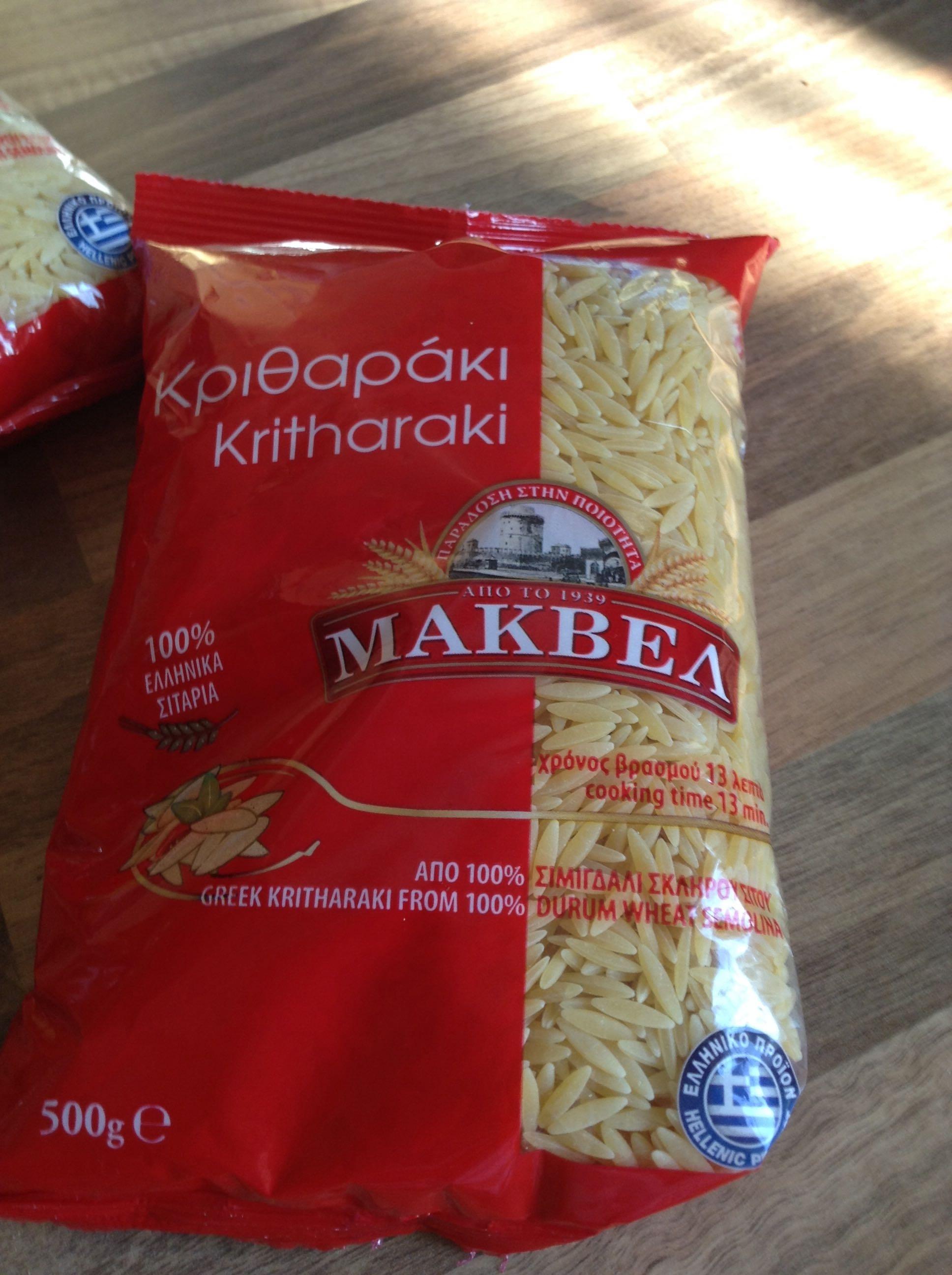 Pâtes Grecques - Product - fr