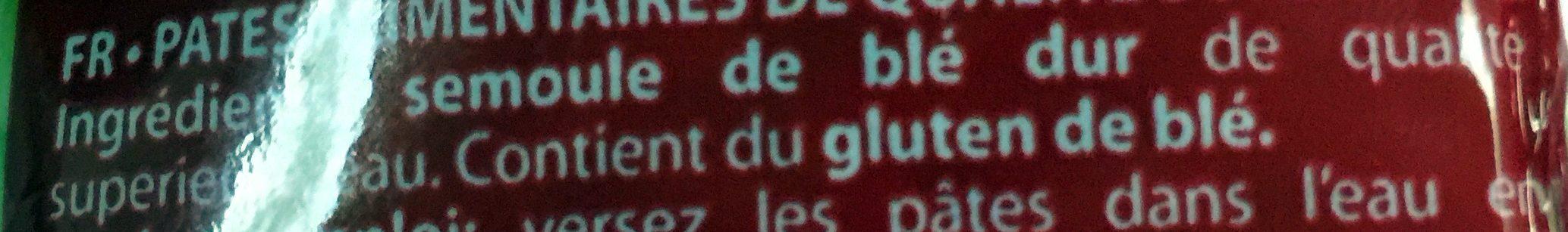 Pâtes Grecques - Ingrediënten - fr