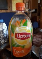 Lipton Ice Tea 1.5L - Peach - Nutrition facts - fr