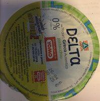 Delta yogurt greco 0% pistacchio - Prodotto - fr