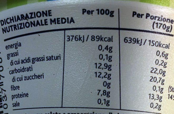 Yaourt à la Grecque Pistache - Informazioni nutrizionali