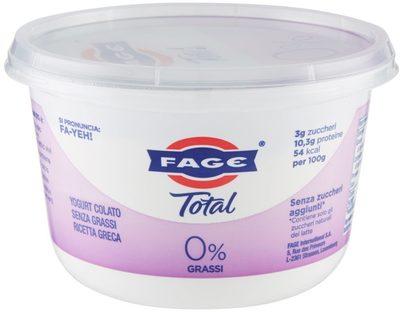 Yog. total 0% GR. 500 Fage . - Prodotto - it