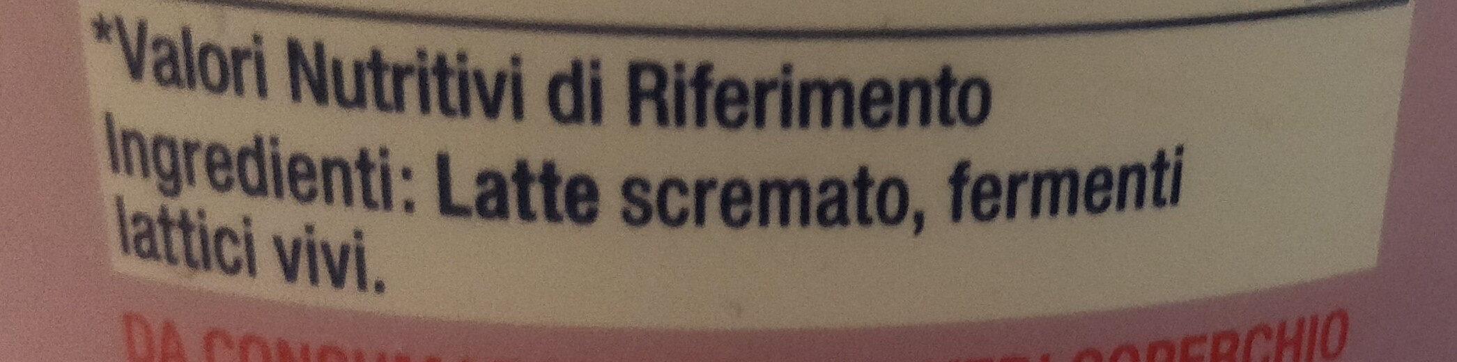 Total 0% grassi - Ingredienti - it