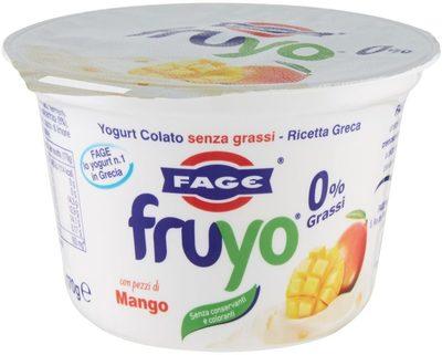 Yogurt colato magro con pezzi di mango - Product