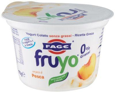 Fruyo Peach 170G - Product