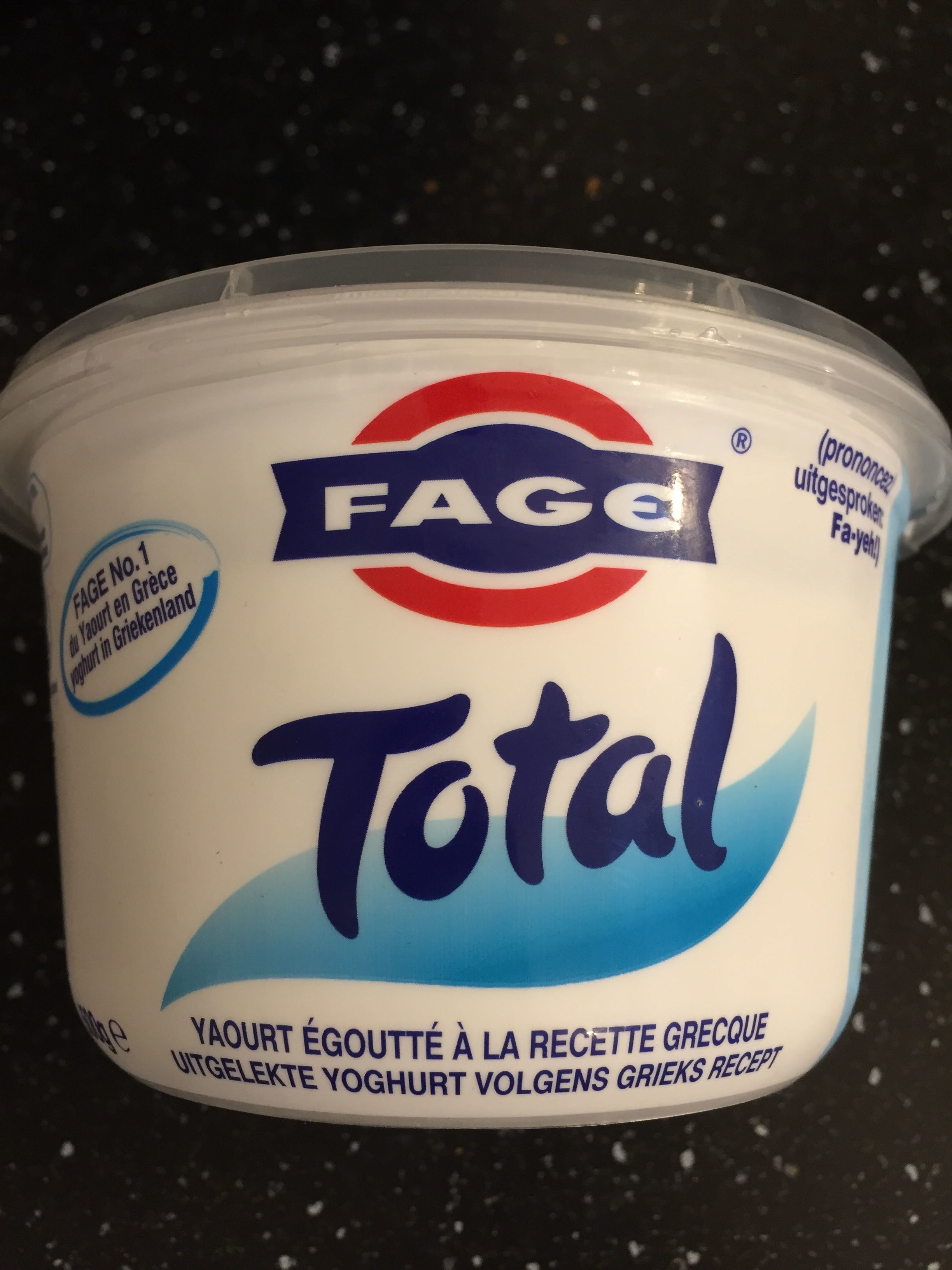 Yaourt Grec FAGE Total 5% - Produit - fr