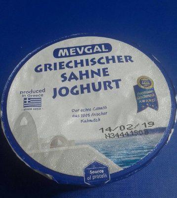 Griechischer sahne joghurt - Product