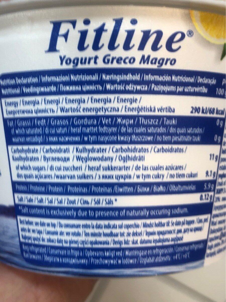 Authentic greek yogurt lemon - Información nutricional