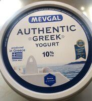 Griechisches Naturjoghurt 10% - Produit - fr