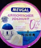 Griechischer Joghurt 0% Fet - Produkt - de