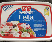 Dodoni 400G Greek Feta Cheese - Product - en