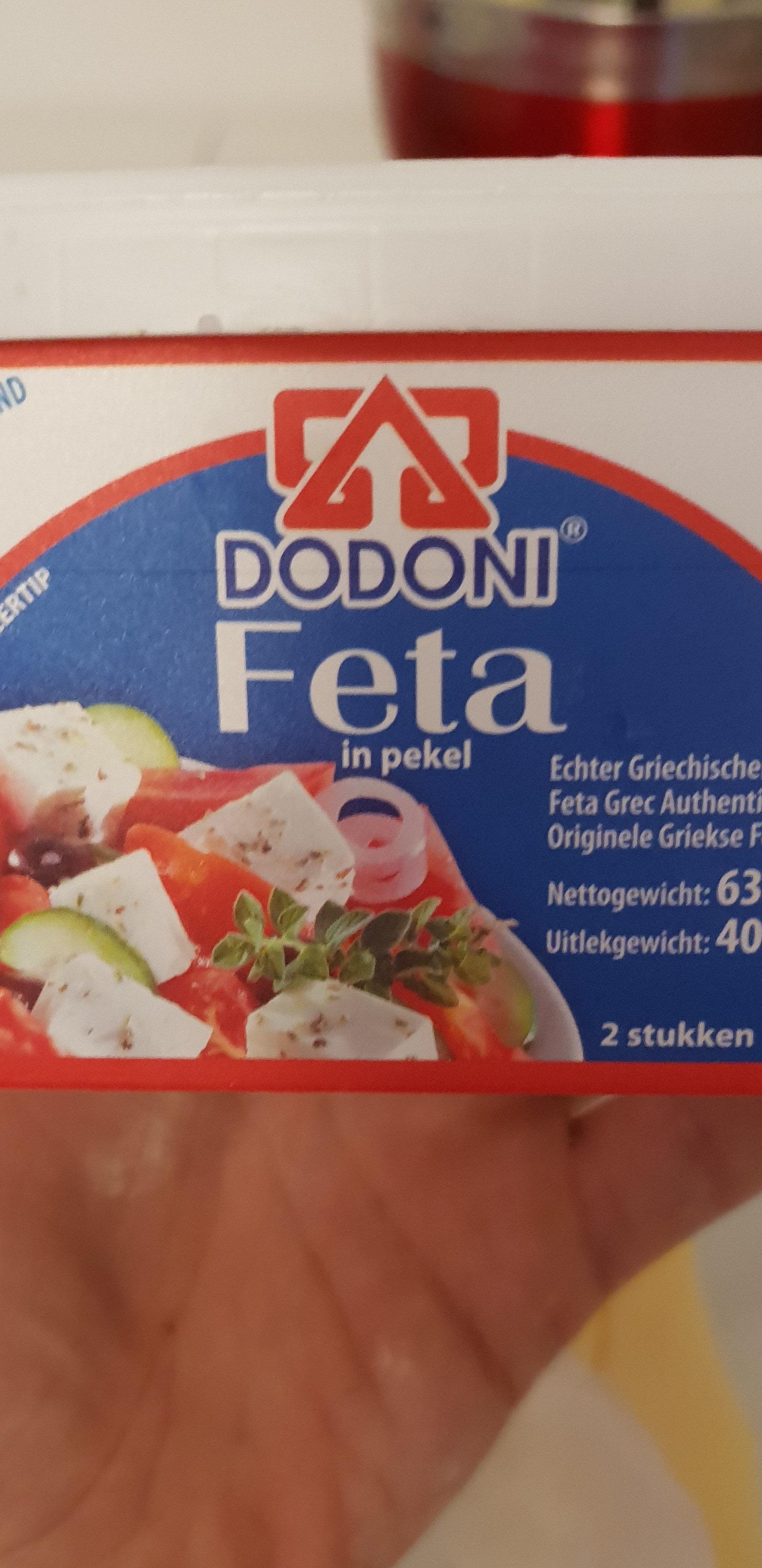 Dodoni 400G Greek Feta Cheese - Produit - fr
