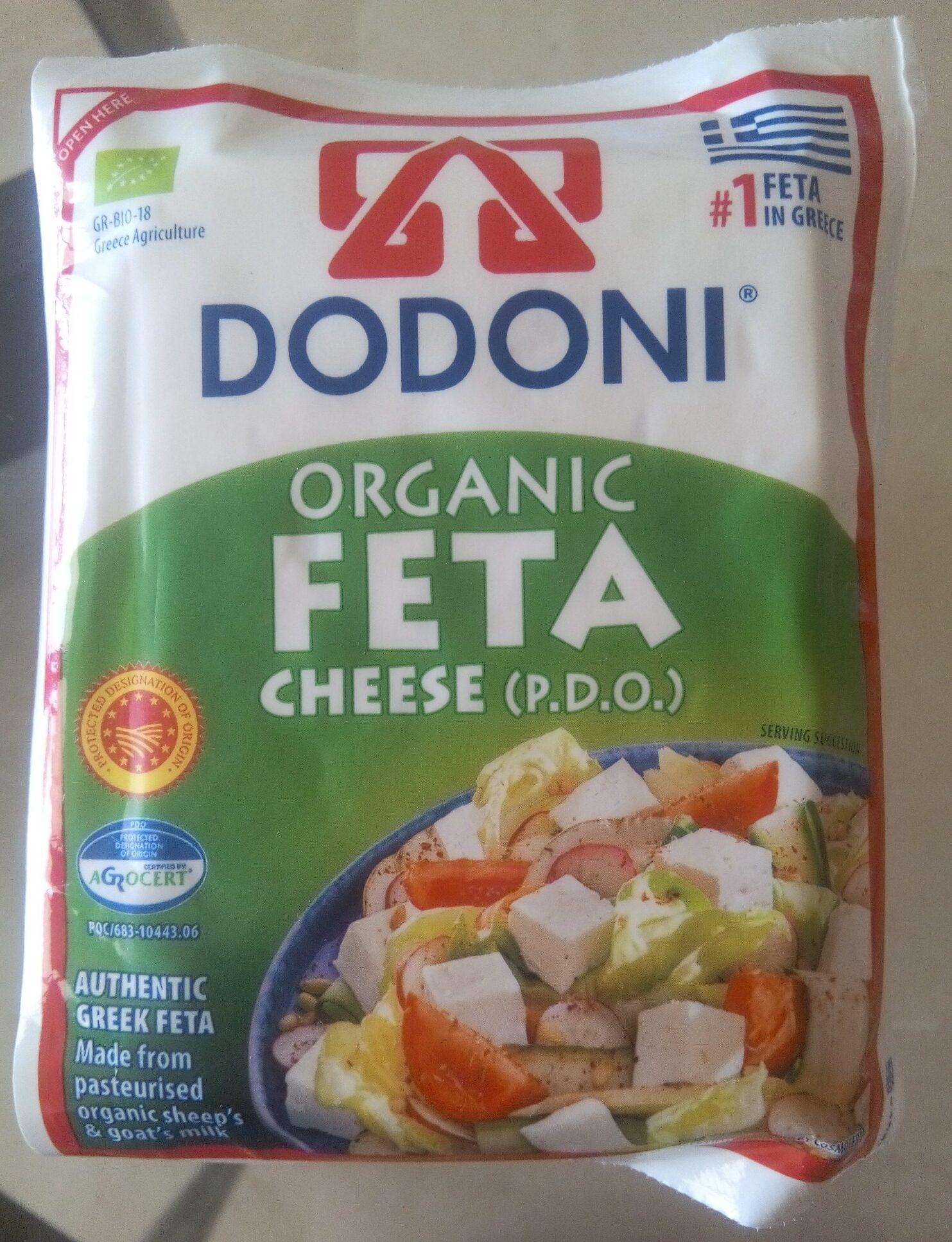 Dodoni Organic Feta Cheese 200G - Producte - es
