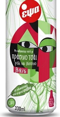 Epsa Green Tea Lemon With Pomegranate & Sour Cherry Light 330ML - Produit - fr