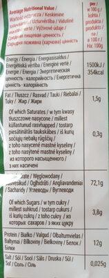 Makaron Orzo Medium - Voedingswaarden - pl