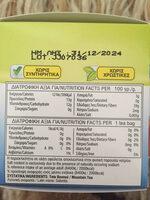 ΤΣΑΪ ΒΟΥΝΟΥ - Nutrition facts - en