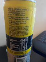 LEMON SODA - Ingrédients - el