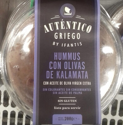 Houmous aux olives de kalamata Authentique Grec - Producto