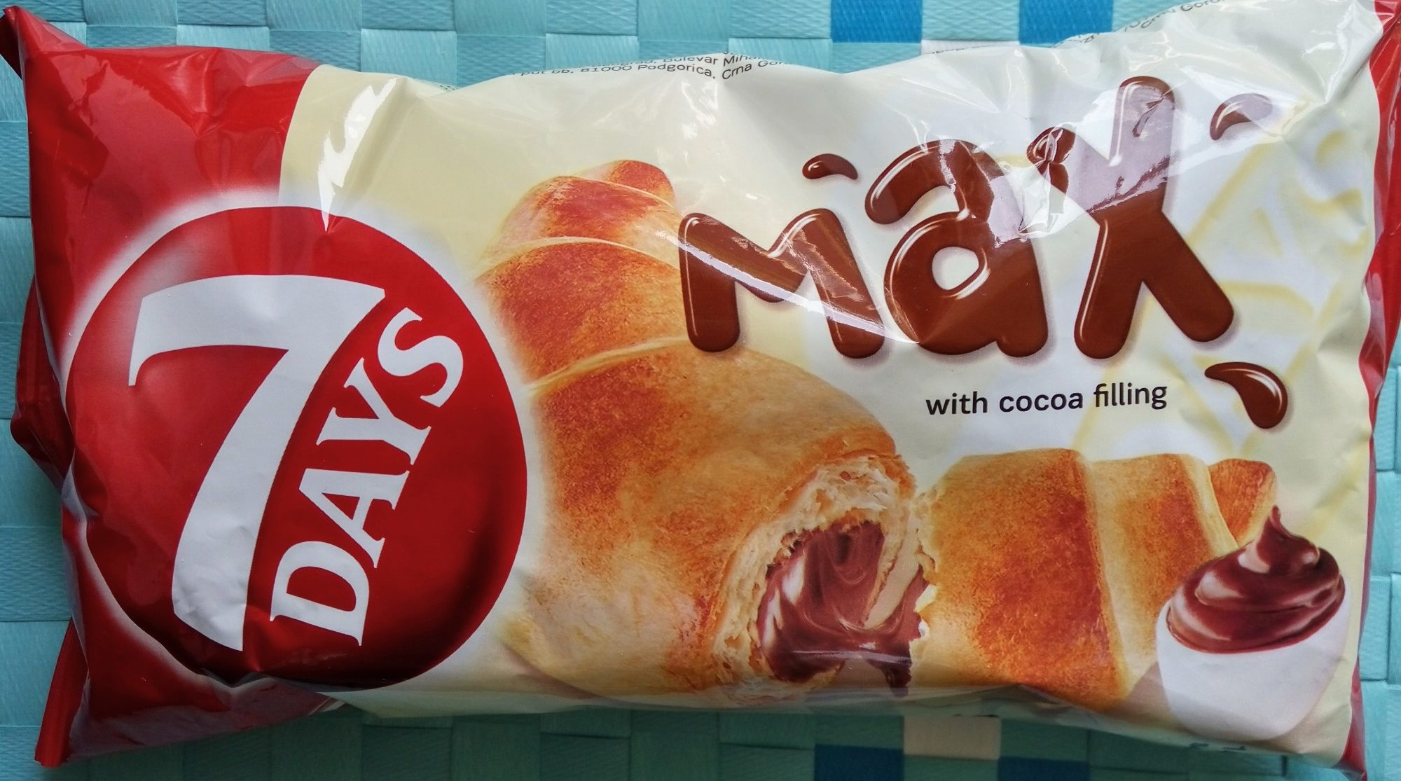 7 Days Max Croissant Cocoa Filling - Производ