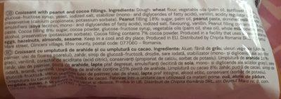 7-days Croissant Peanut 80G - Ingrédients - fr