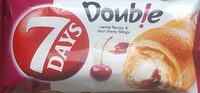 Double vanilla flavour & sour cherry fillings - Produit - fr