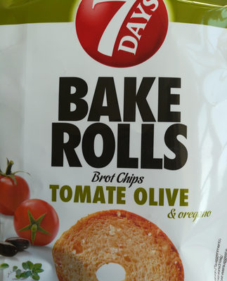 Bake Rolls Tomate Olive - Product