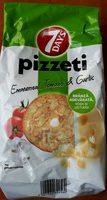 Pizzeti emental, tomato & garlic - Produit