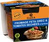 Fromage Feta et tomates séchées à tartiner - Product
