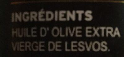 Olivenöl, Nativ, Extra Aus Lesbos - Ingrédients
