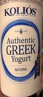 Authentic GREEK Yogurt - Product - en