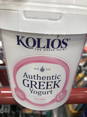Yogurt griego natural - Product - es